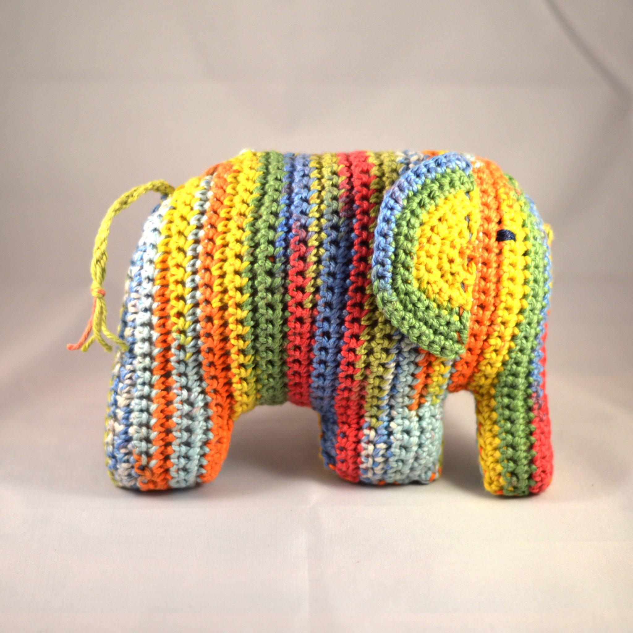 Rainbow Elephant 1